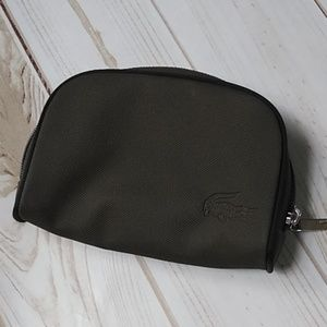 Lacoste small makeup bag
